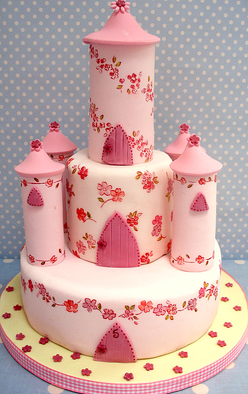 Check out This Gorgeous Princess Cake Catch My Party