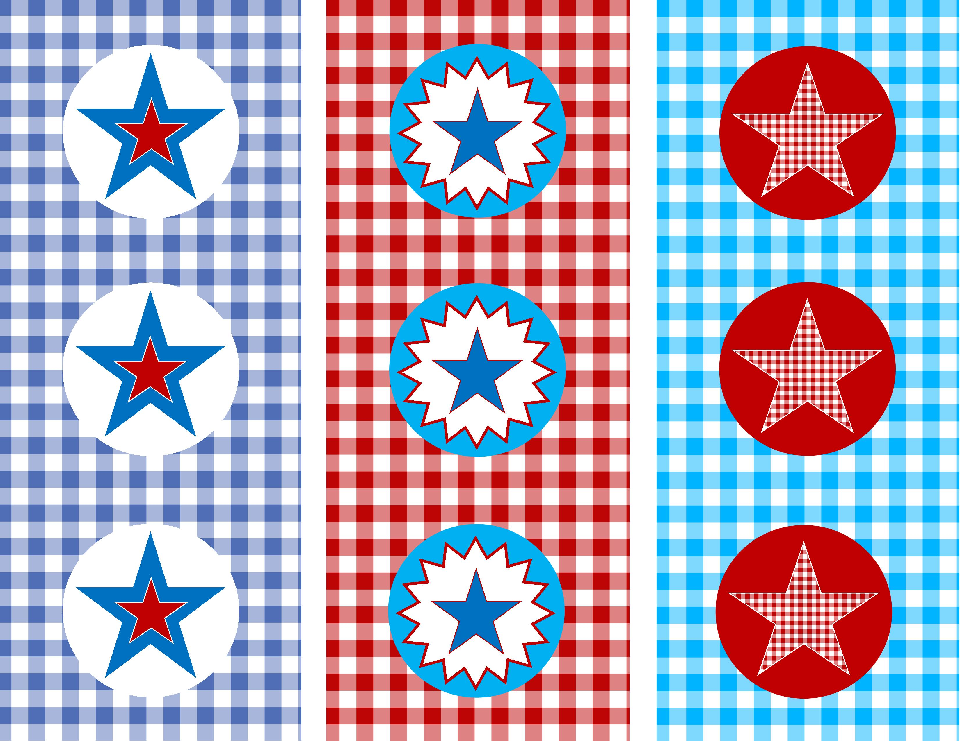 Free Memorial Day Party Circles from Amy Mattes Designs | Catch My ...