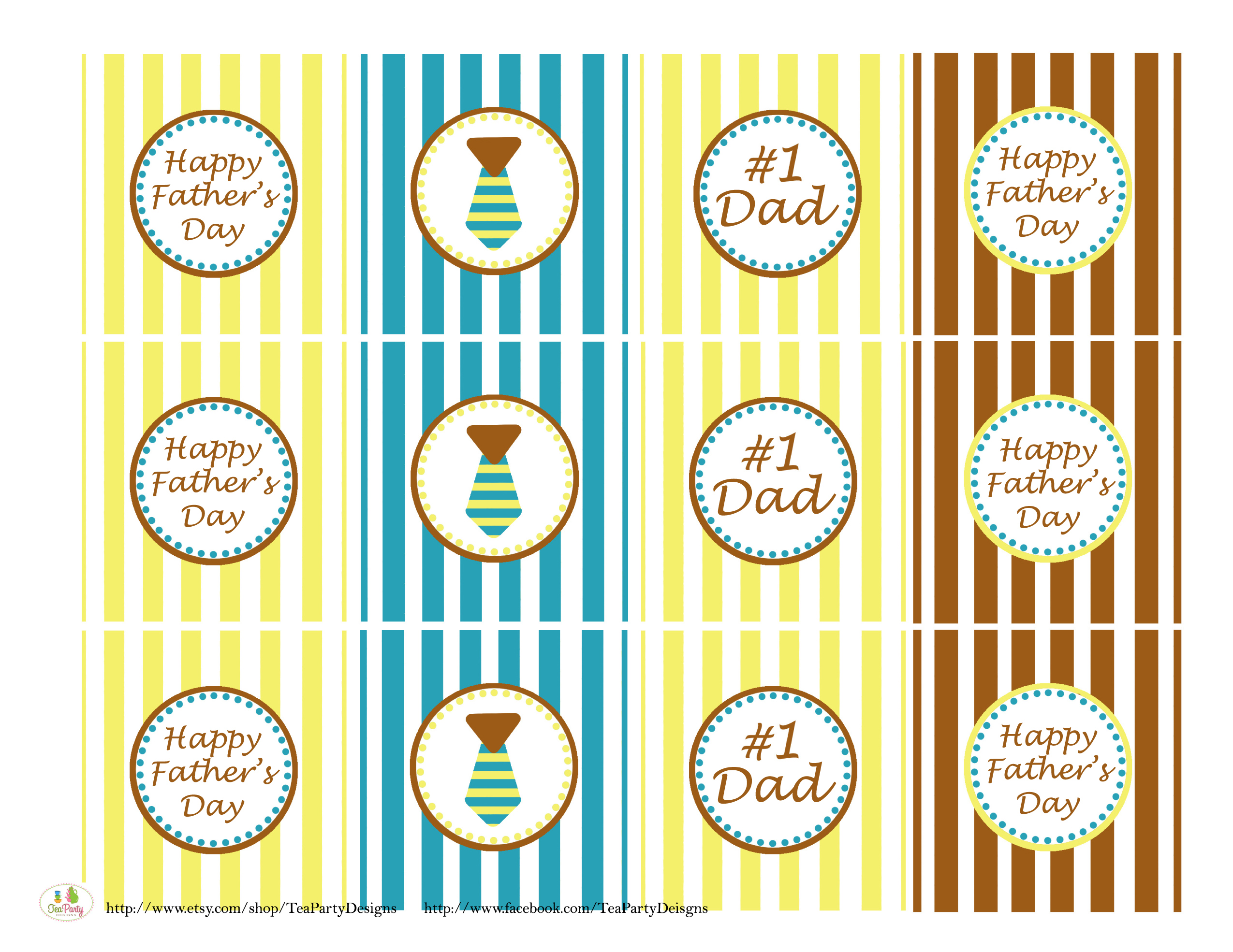 free father u0027s day printables from tea party designs catch my party