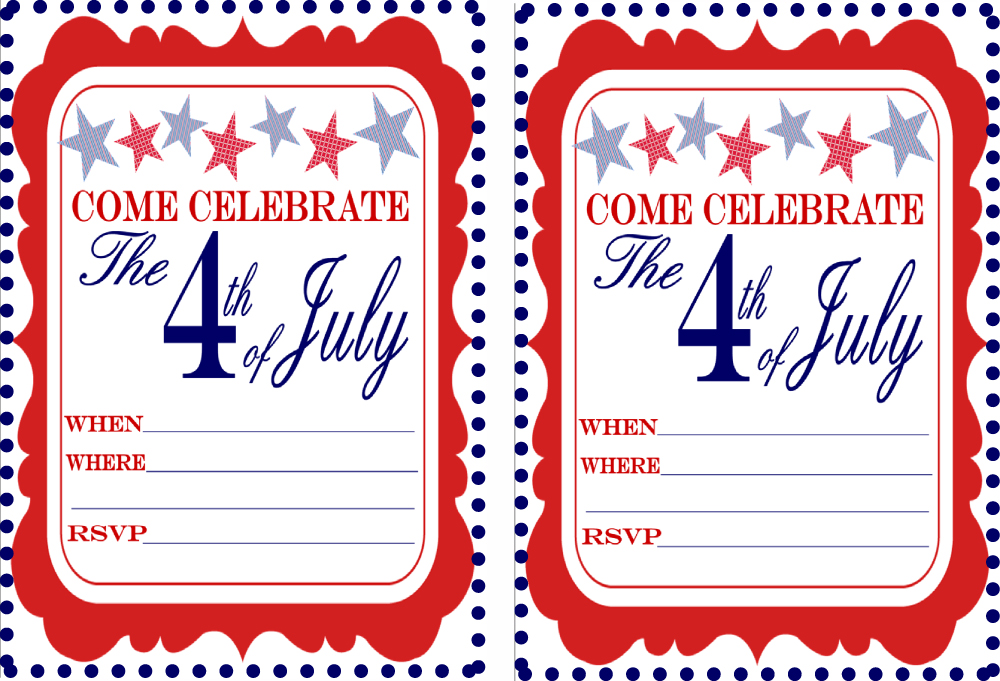 free july 4th party printables from 9 to 5 mom catch my party