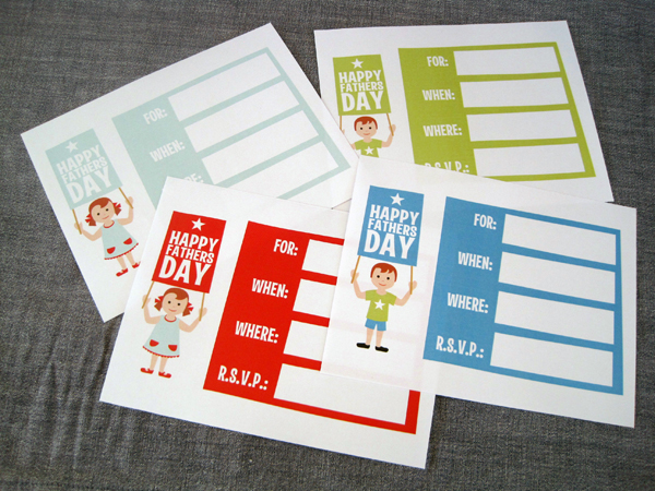Treat Your Dad to These Cute Free Father's Day Printables ...