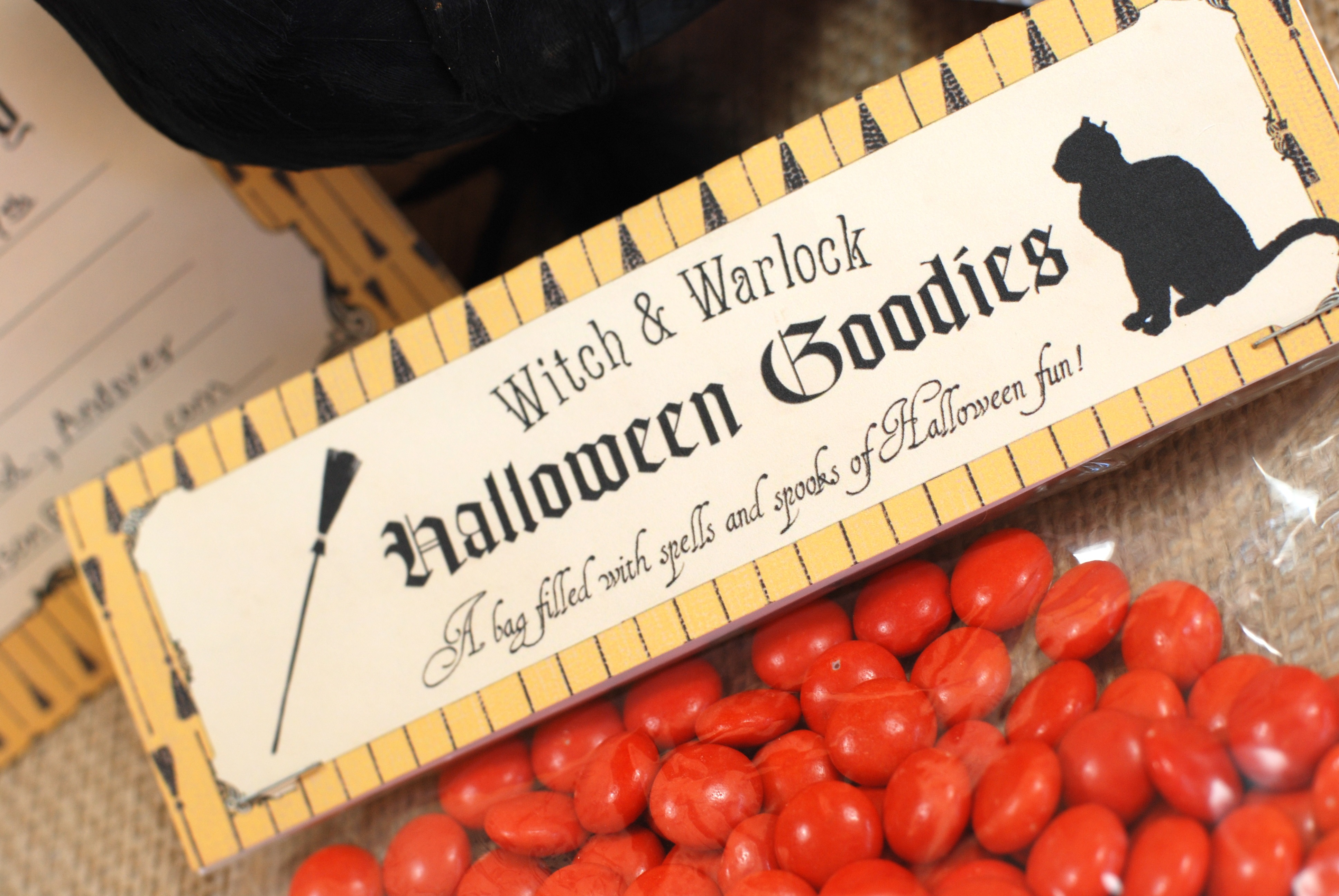 free halloween party printables from b nute productions catch my