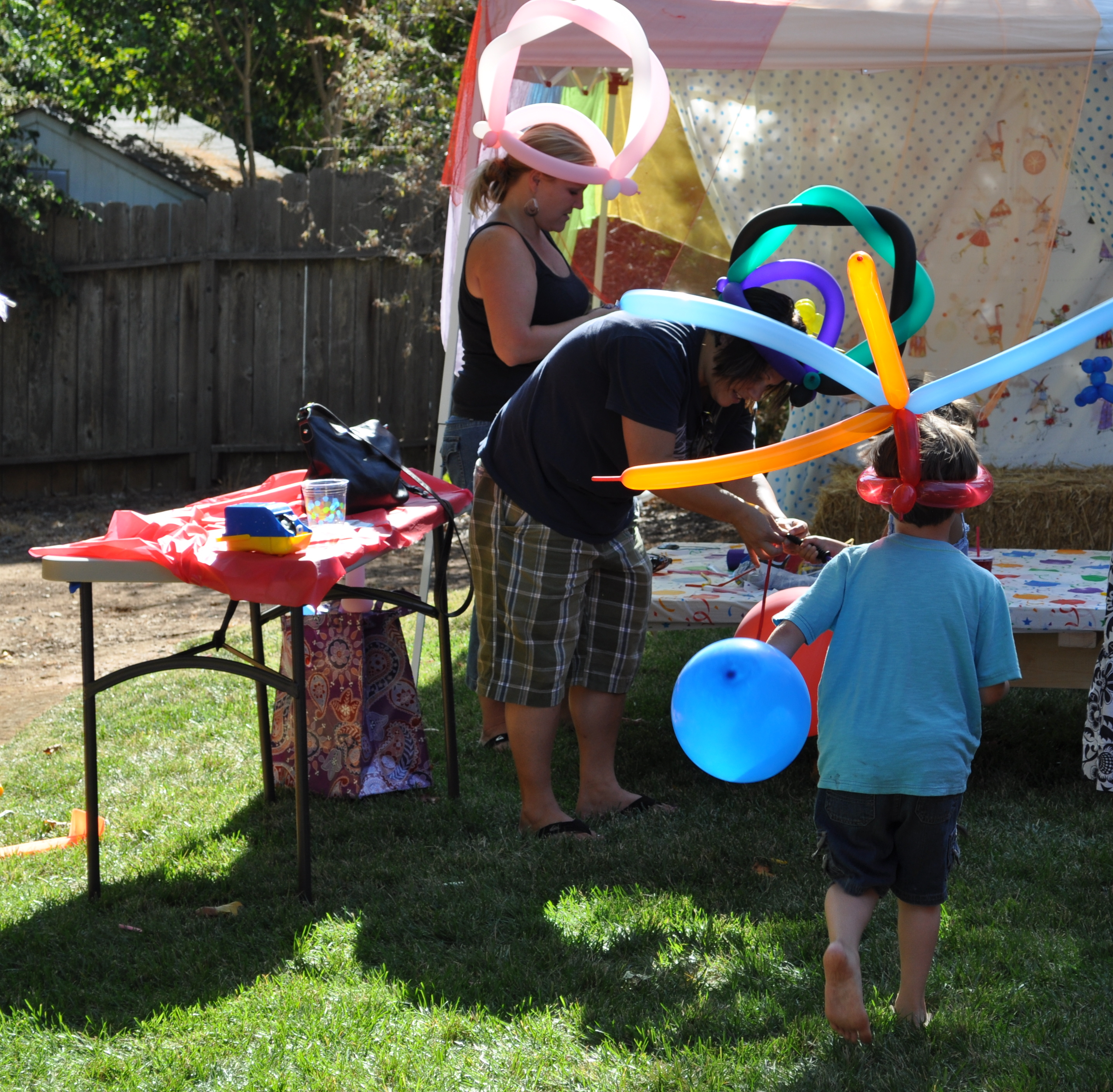 PARTY ON A BUDGET Backyard Carnival Party