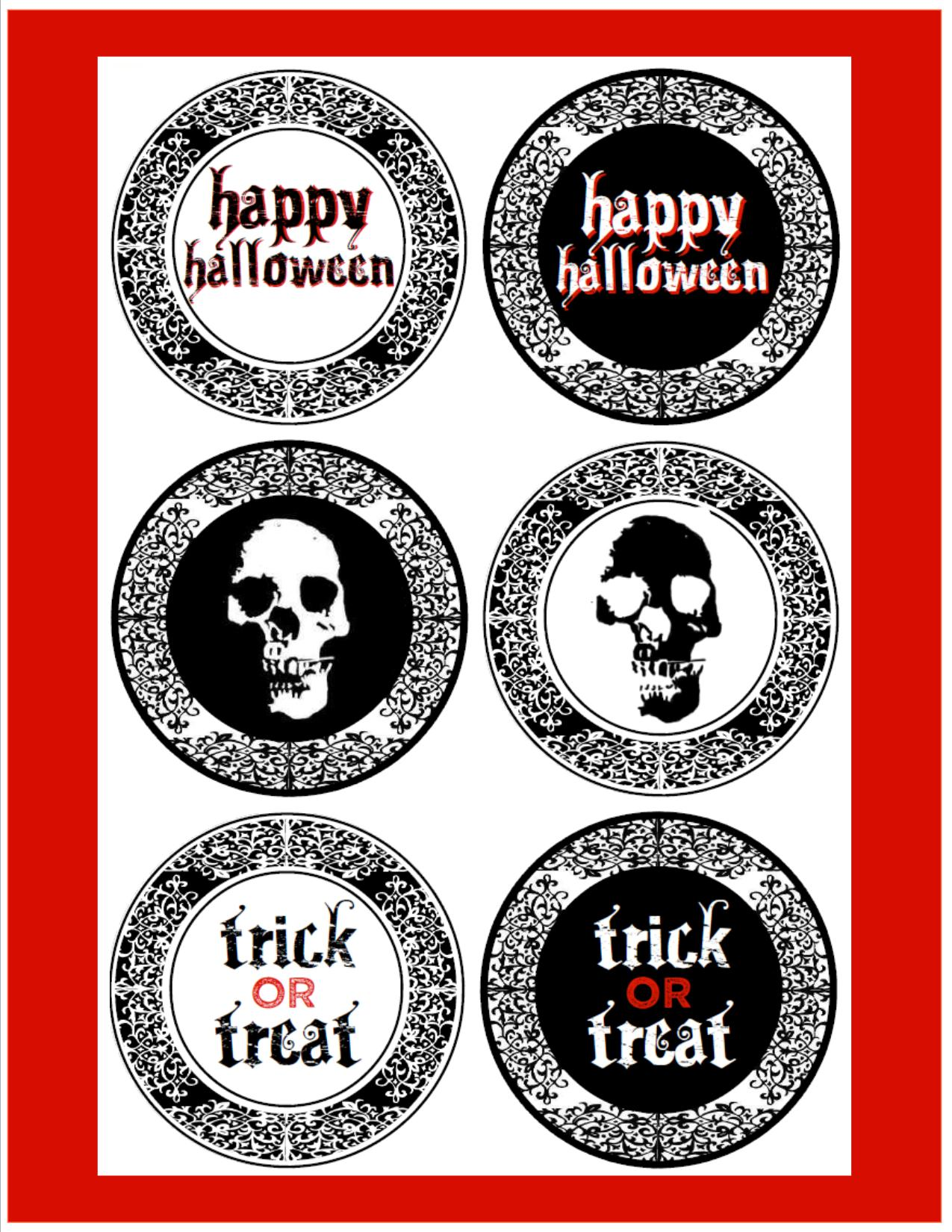 Eloquent image with free halloween printable
