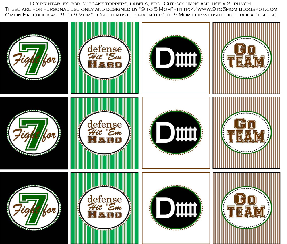 free football printables u2013 craftbnb