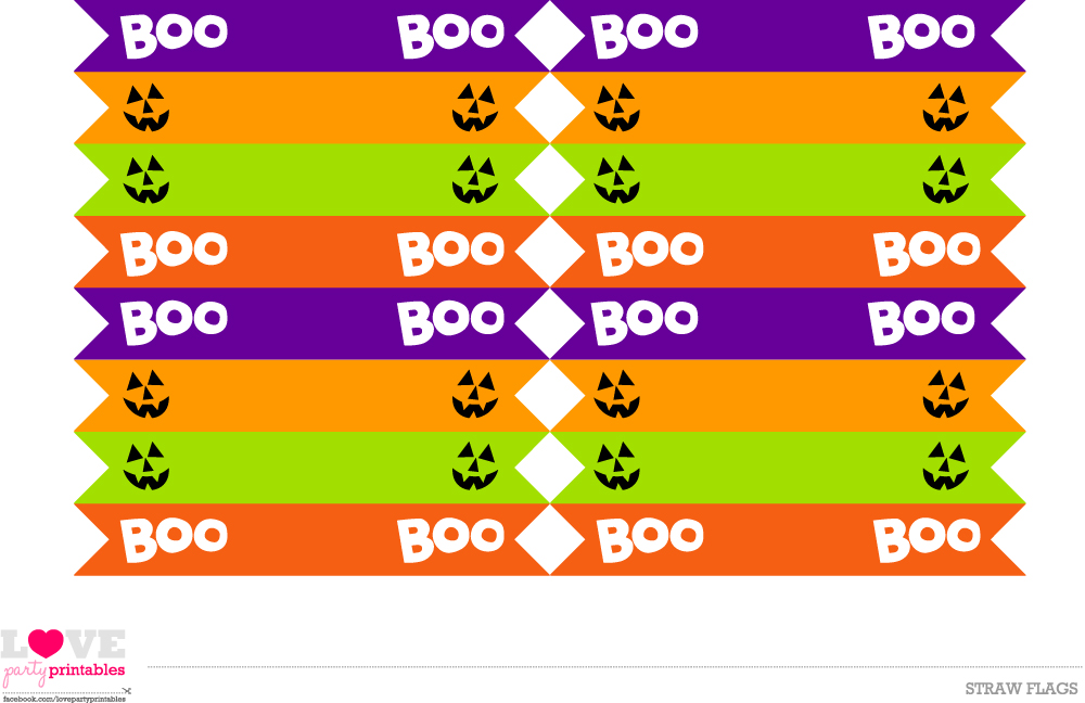 pin it drink flags - Free Printables For Halloween