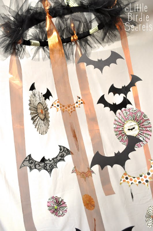 Diy Tutorial How To Make A Halloween Chandelier Catch My Party