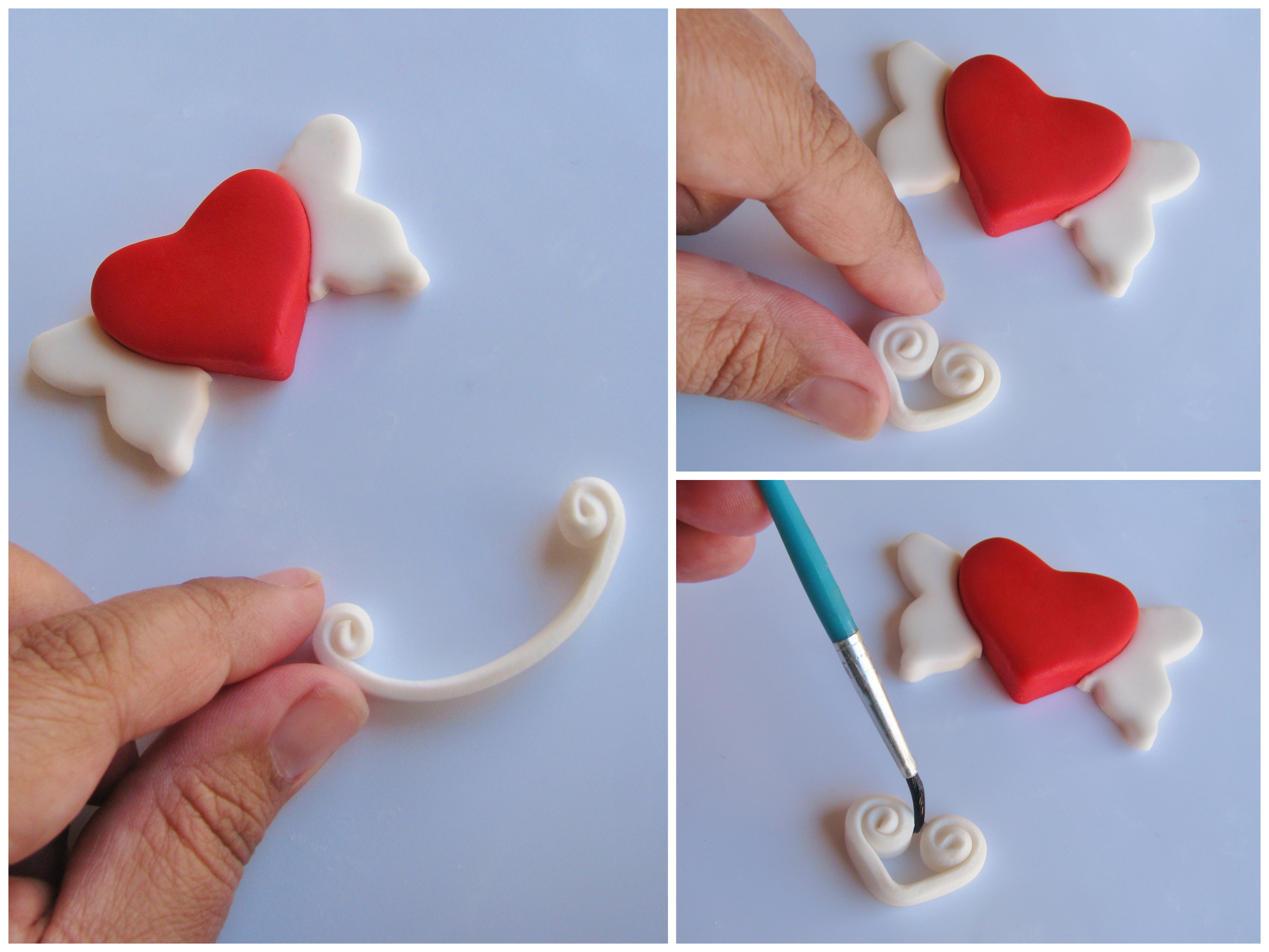 diy how to make easy and adorable valentine u0027s day cupcake toppers