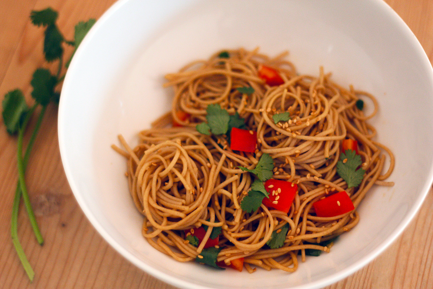 Recipe: The Easiest Cold Sesame Noodles | Catch My Party