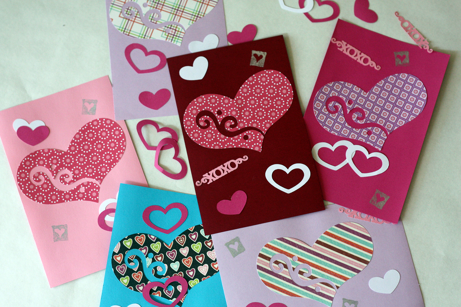 DIY My Homemade Valentine Cricut Project  Catch My Party