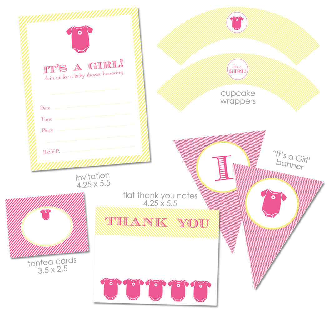 It is a graphic of Soft Baby Shower Printouts