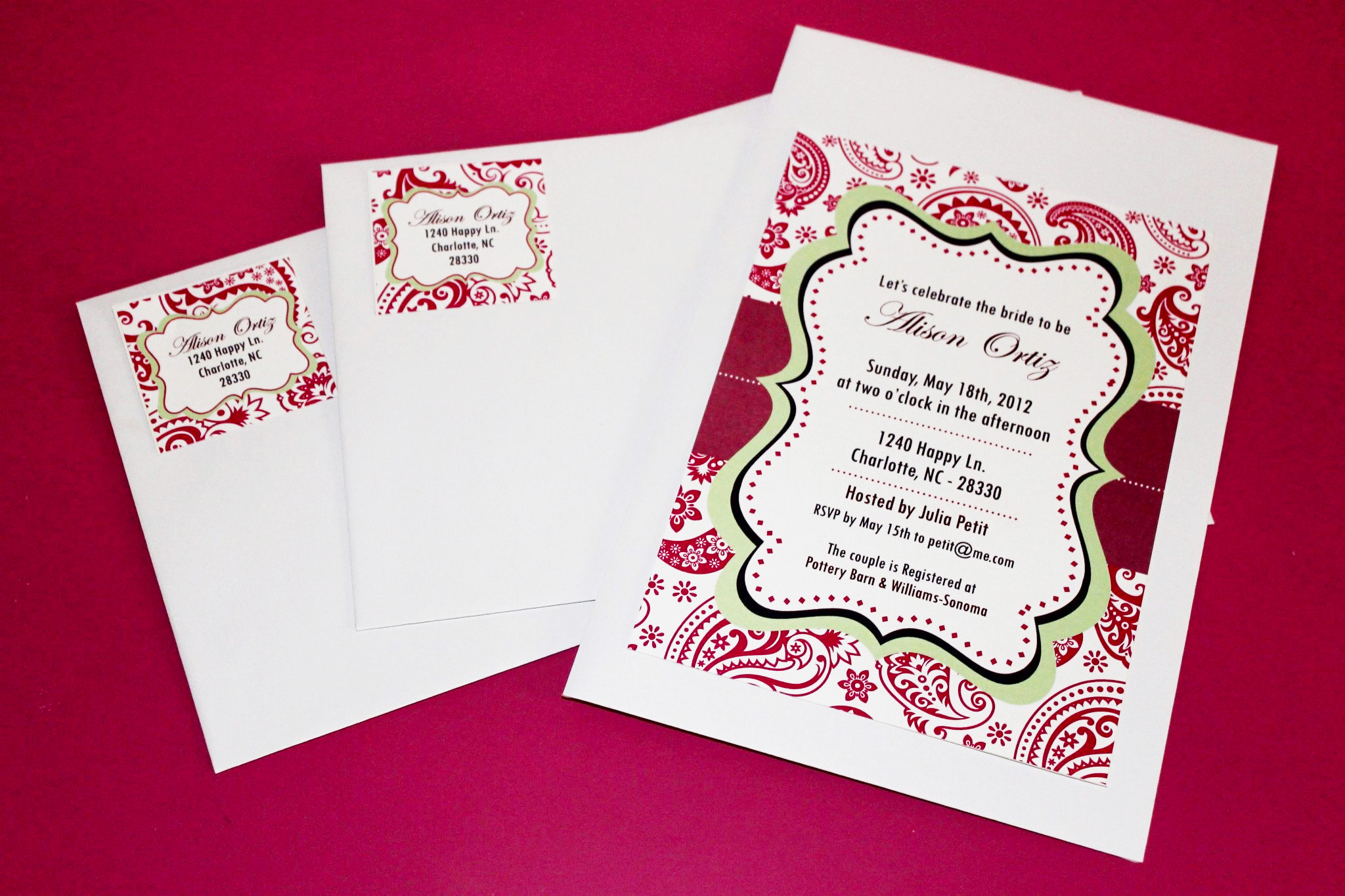 FREE Bridal Shower Printables from Wanessa Carolina Creations ...