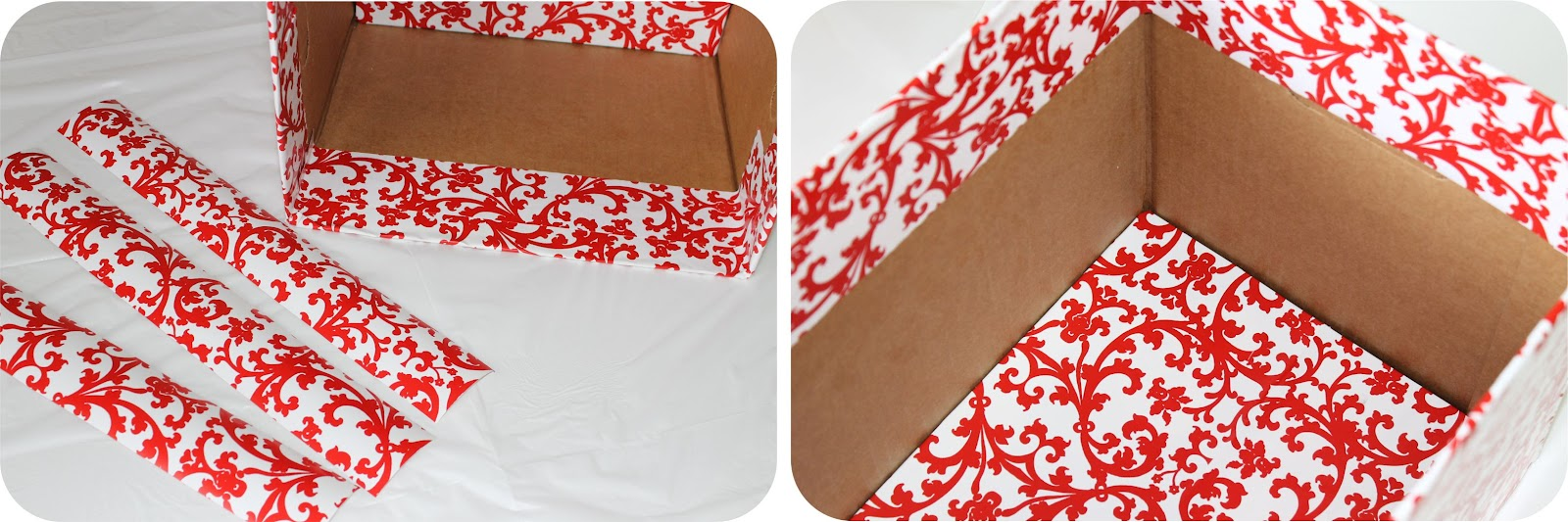 Extra large cardboard storage boxes -  Diy How To Recycle Cardboard Boxes Into Pretty Storage Boxes With Editable Labels
