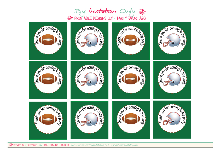 graphic relating to Free Printable Football Invitations referred to as Cost-free Soccer Celebration Printables against Via Invitation Merely Do it yourself