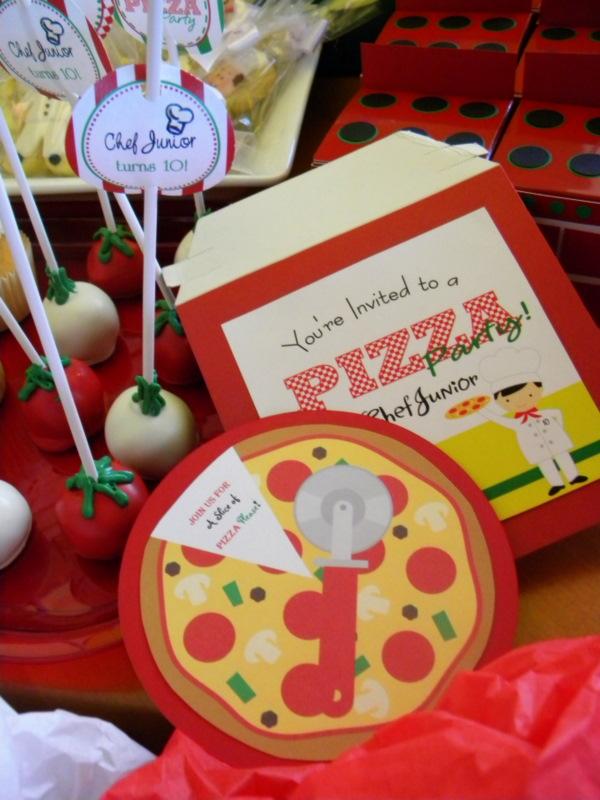 California Pizza Kitchen Birthday Party