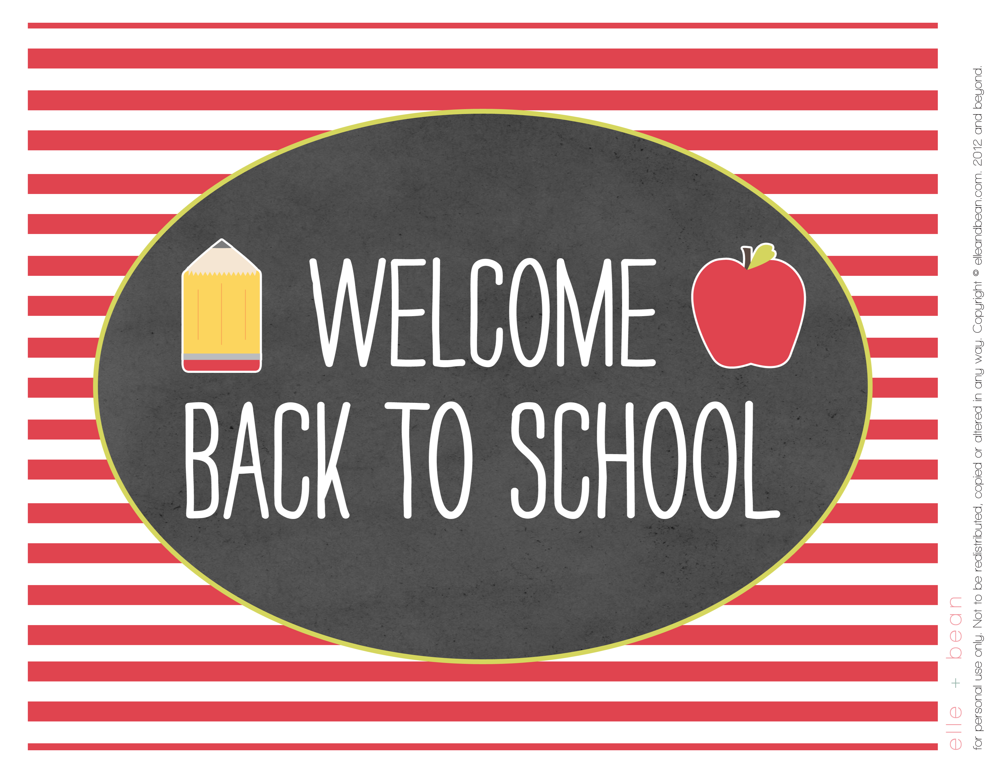 Crush image intended for printable back to school signs