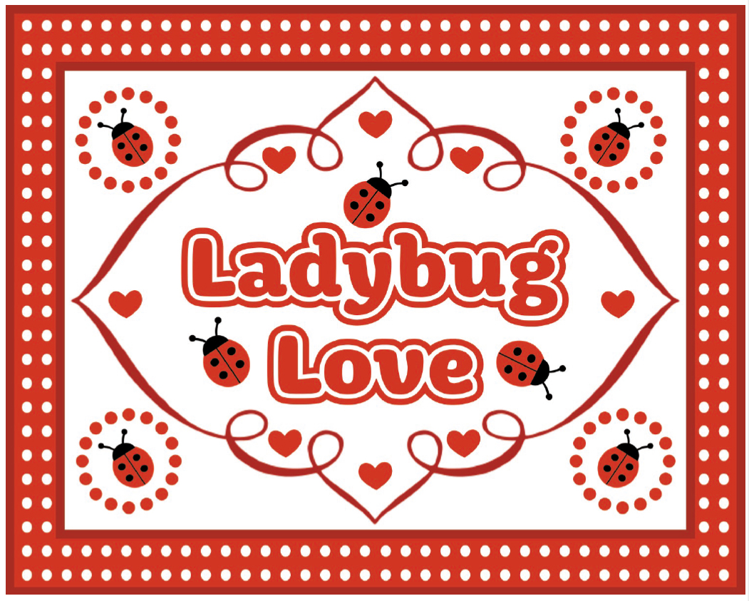 free ladybug party printables from printabelle catch my party