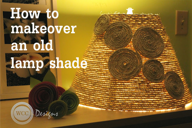 Make A Pretty Lampshade Using Rope