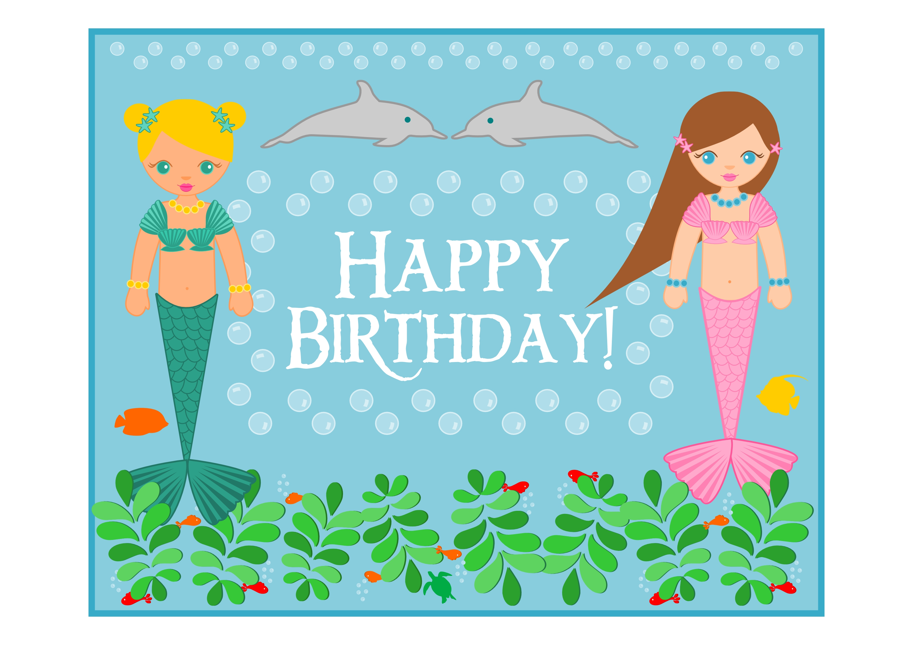 mermaid birthday party printables from printabelle catch my the mermaid printables here