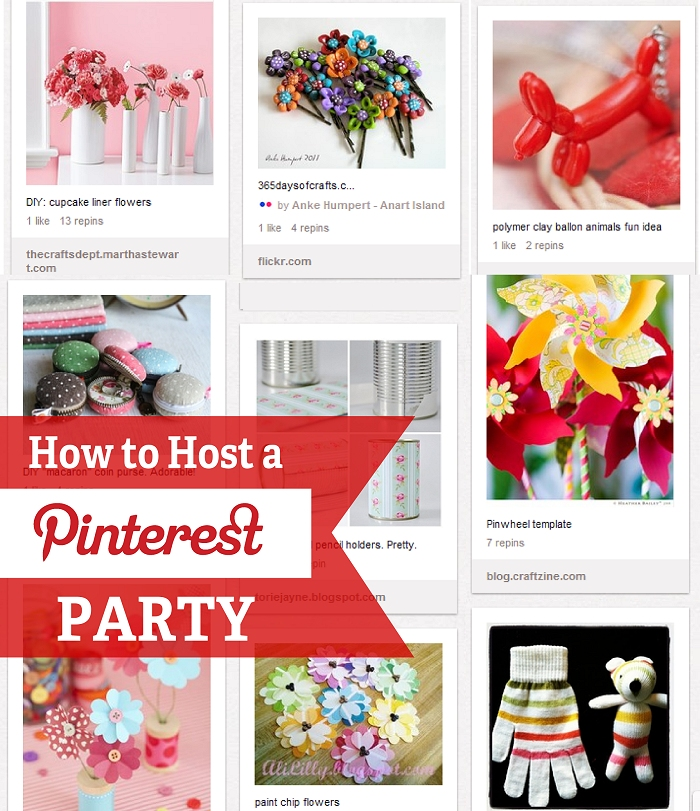 How to Host A Pinterest Party – Party Invitation Pinterest