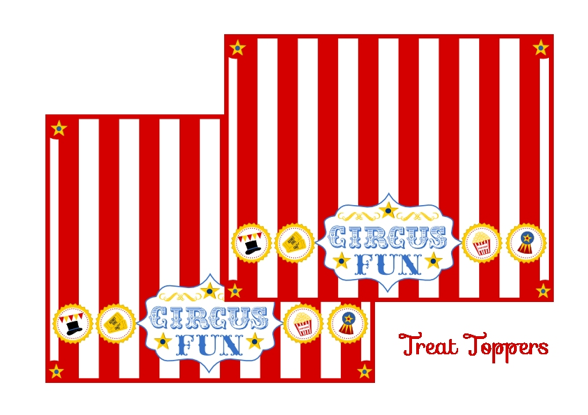 Free Circus Birthday Party Printables From Printabelle