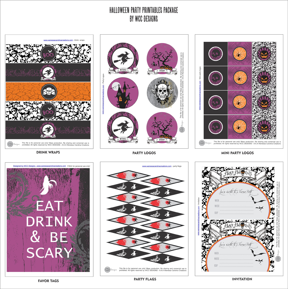 Download The Free Halloween Printables Here