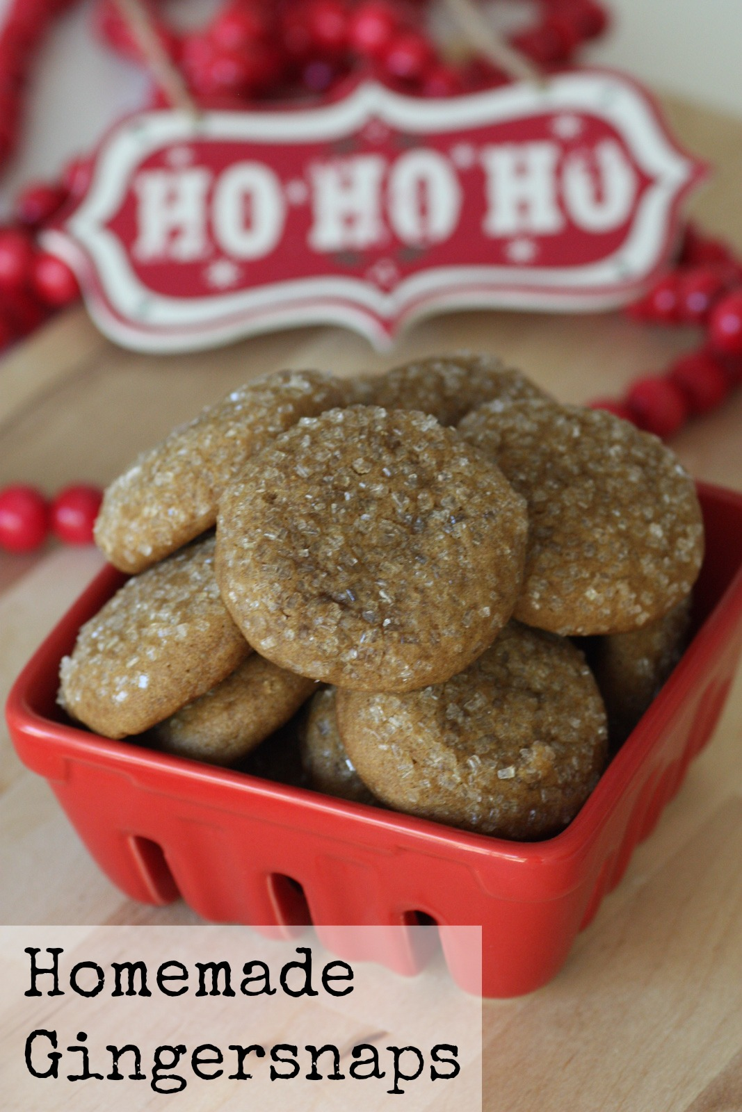Chewy Gingersnap Cookie Recipe | Catch My Party