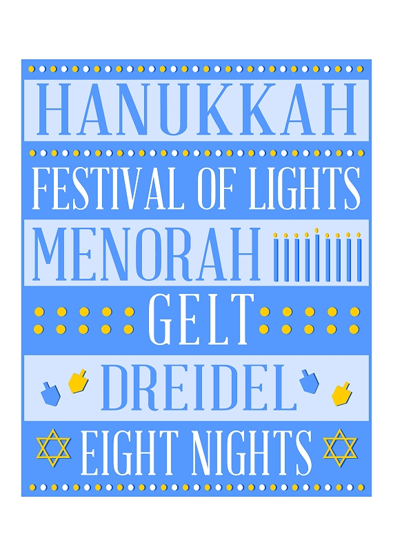 FREE Hanukkah Party Printables | Catch My Party