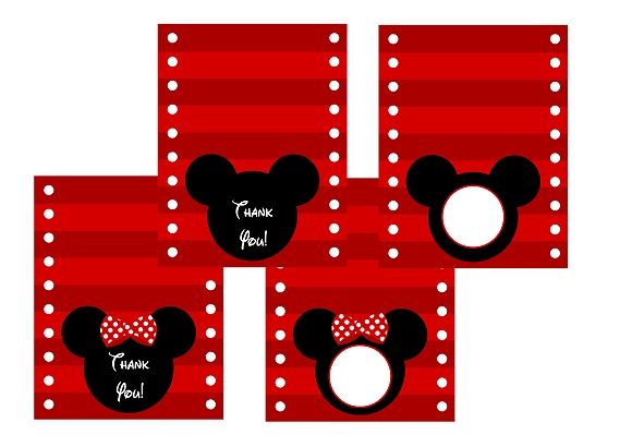 FREE Mickey Minnie Mouse Birthday Party Printables From Printabelle