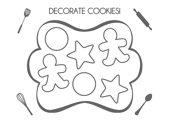coloring pages of baking - photo#25
