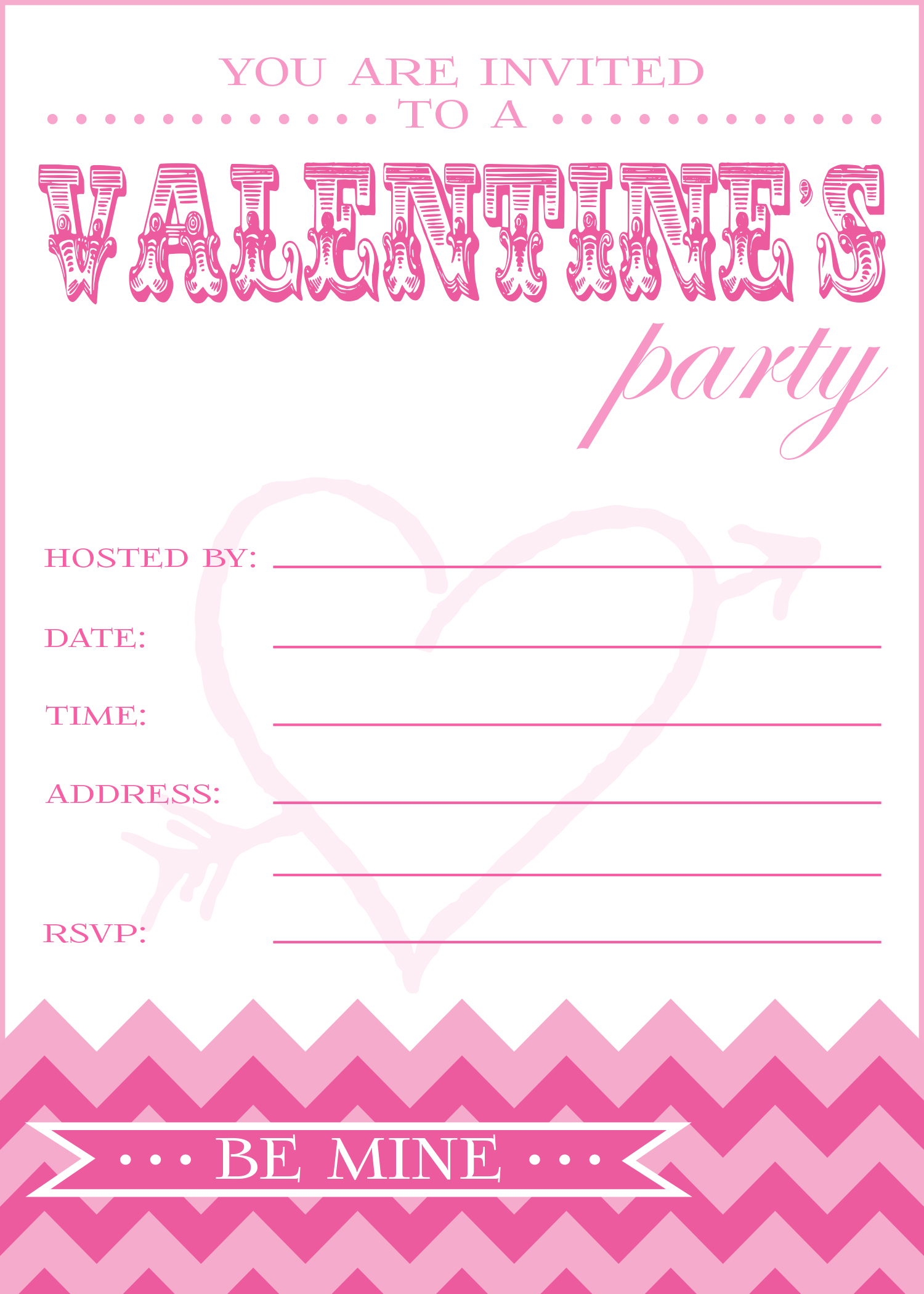 free valentine 39 s day party printables from pick print party catch
