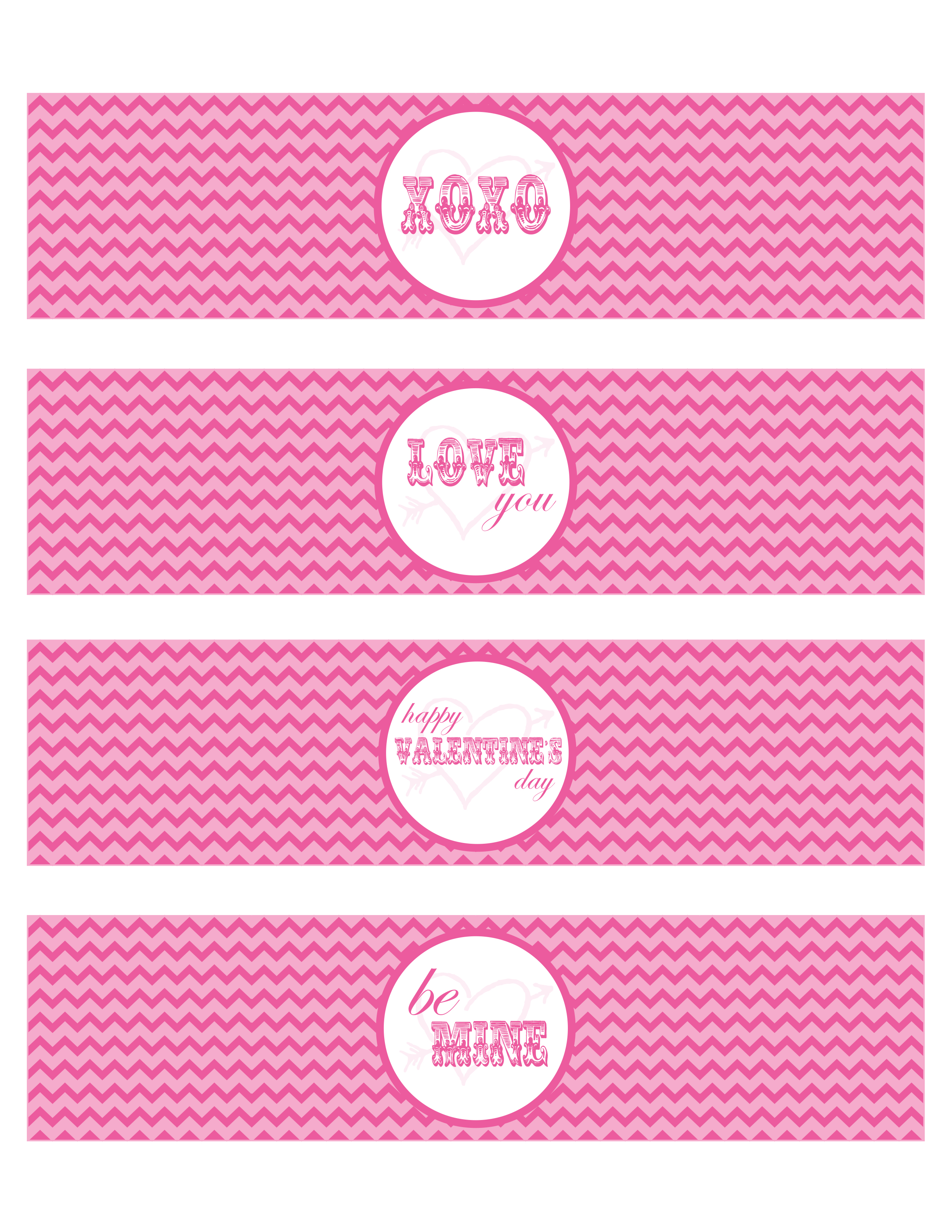 FREE Valentine's Day Party Printables from Pick.Print.Party ...