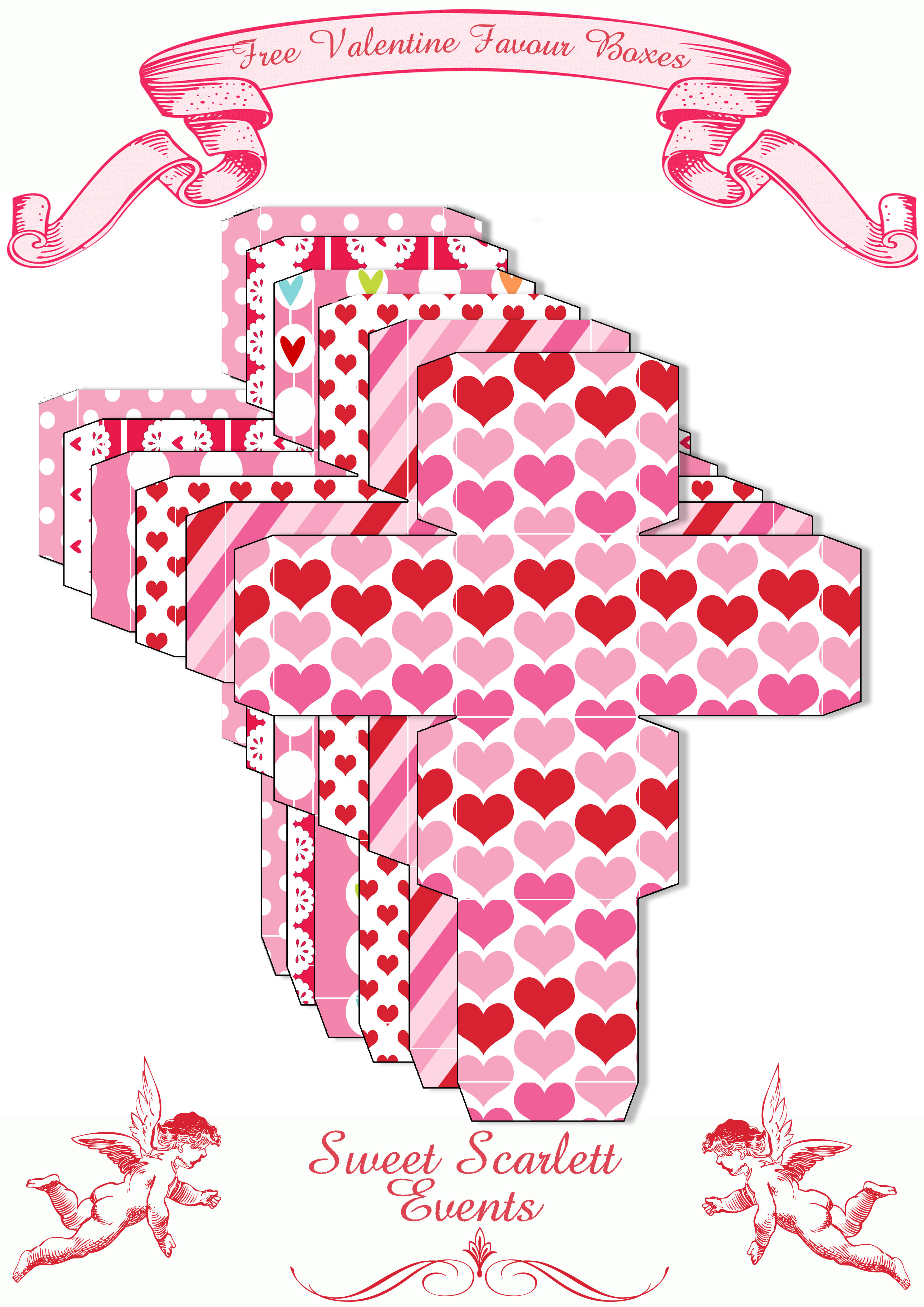 It is a graphic of Gratifying Valentines Day Printables