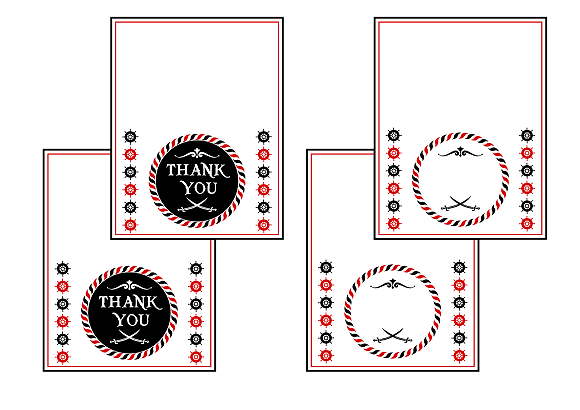 free pirate birthday party printables from printabelle catch my party. Black Bedroom Furniture Sets. Home Design Ideas