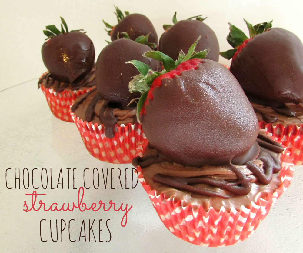 ... for Kids*: Mother's Day Chocolate Covered Strawberry Cupcakes Recipe