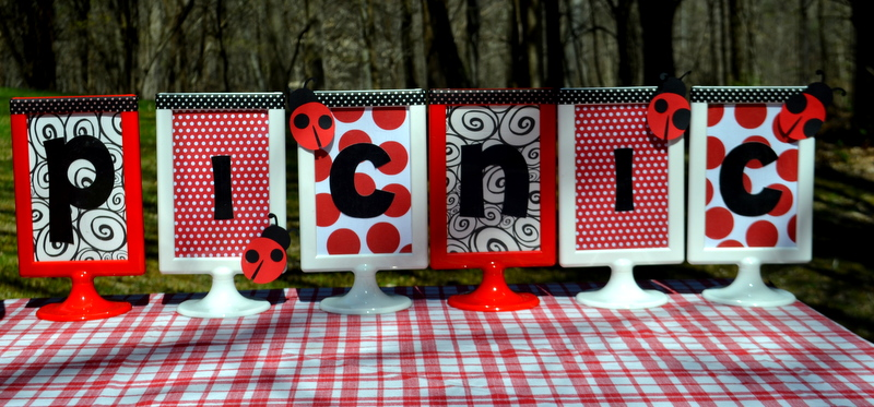 Party On A Budget Spotty Dotty Ladybug Picnic Party