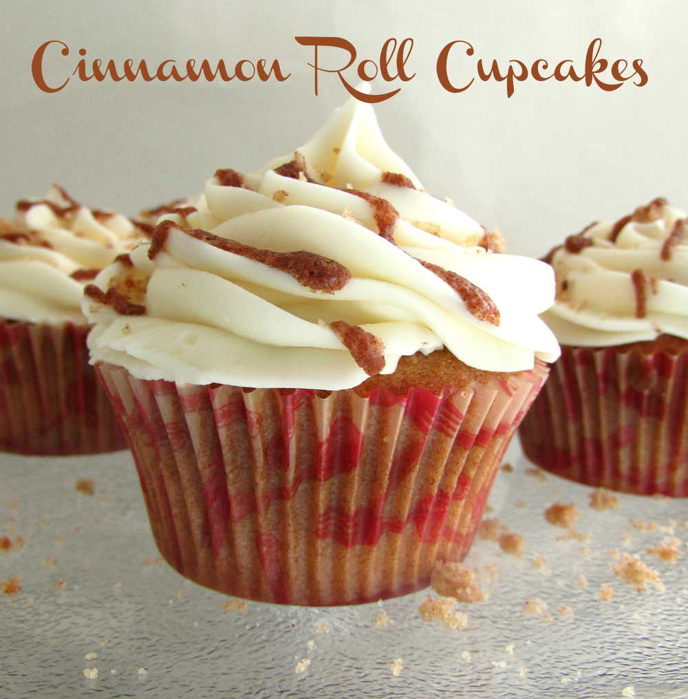 Cupcake Recipes With Pictures : {RECIPE} Cinnamon Roll Cupcakes Catch My Party