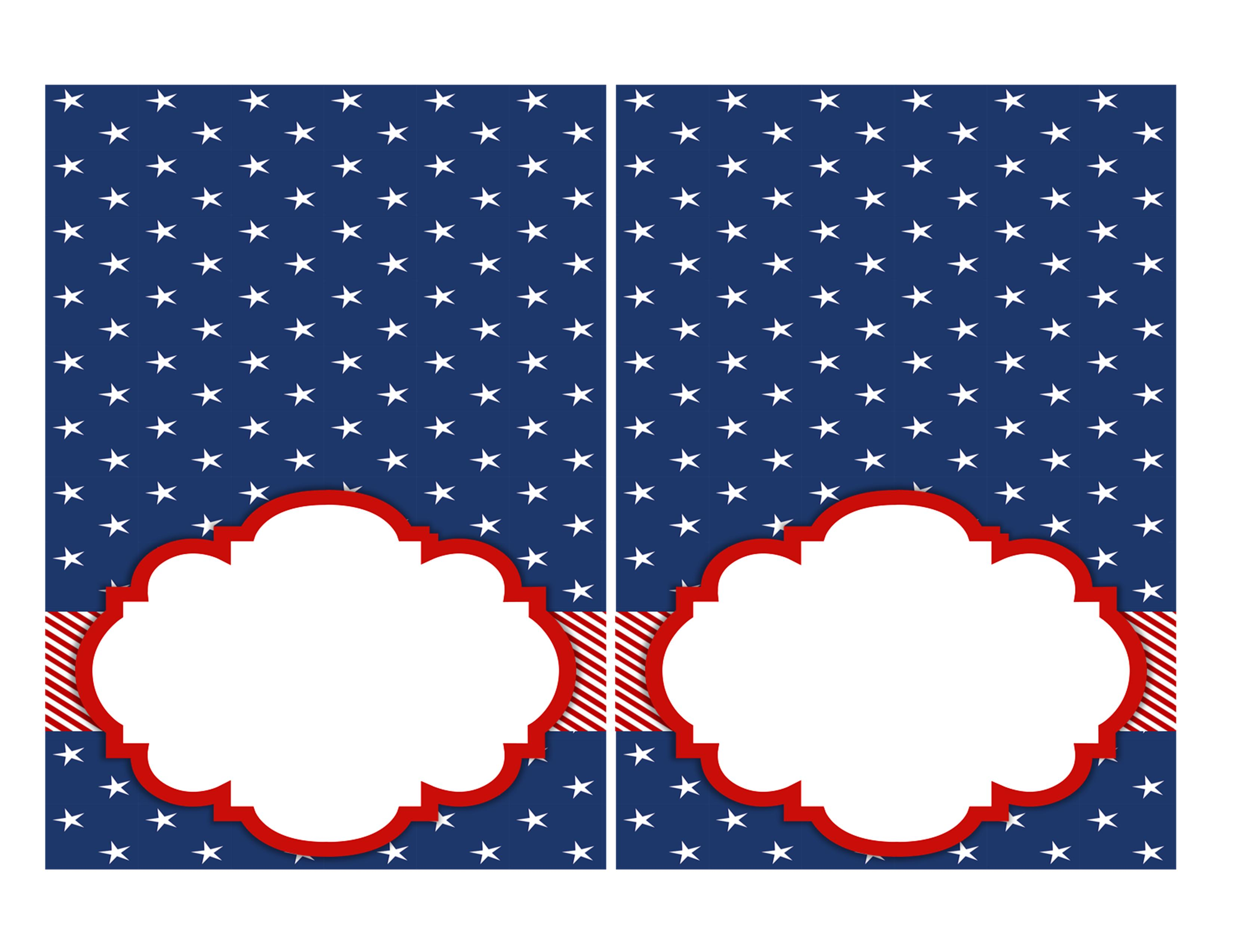 FREE 4th Of July Party Printables By Designs Serendipity