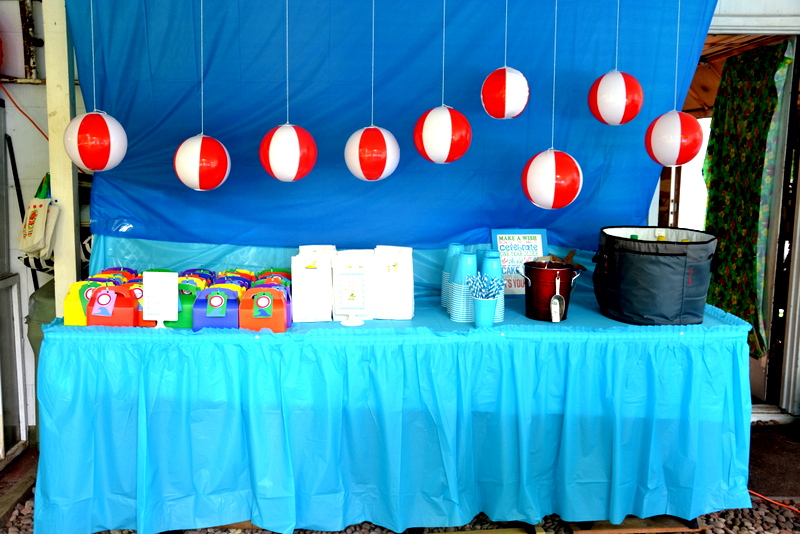 Beach Themed Party Decorating Ideas Part - 22: Backyard Beach Party On A Budget