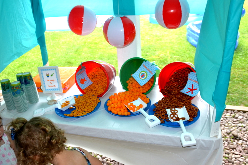 Backyard Beach Party On A Budget