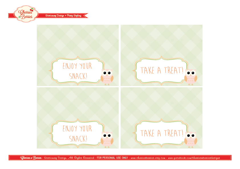 graphic regarding Free Printable Bag Toppers Templates called Totally free Again toward College or university Printables against Cherries n Berries
