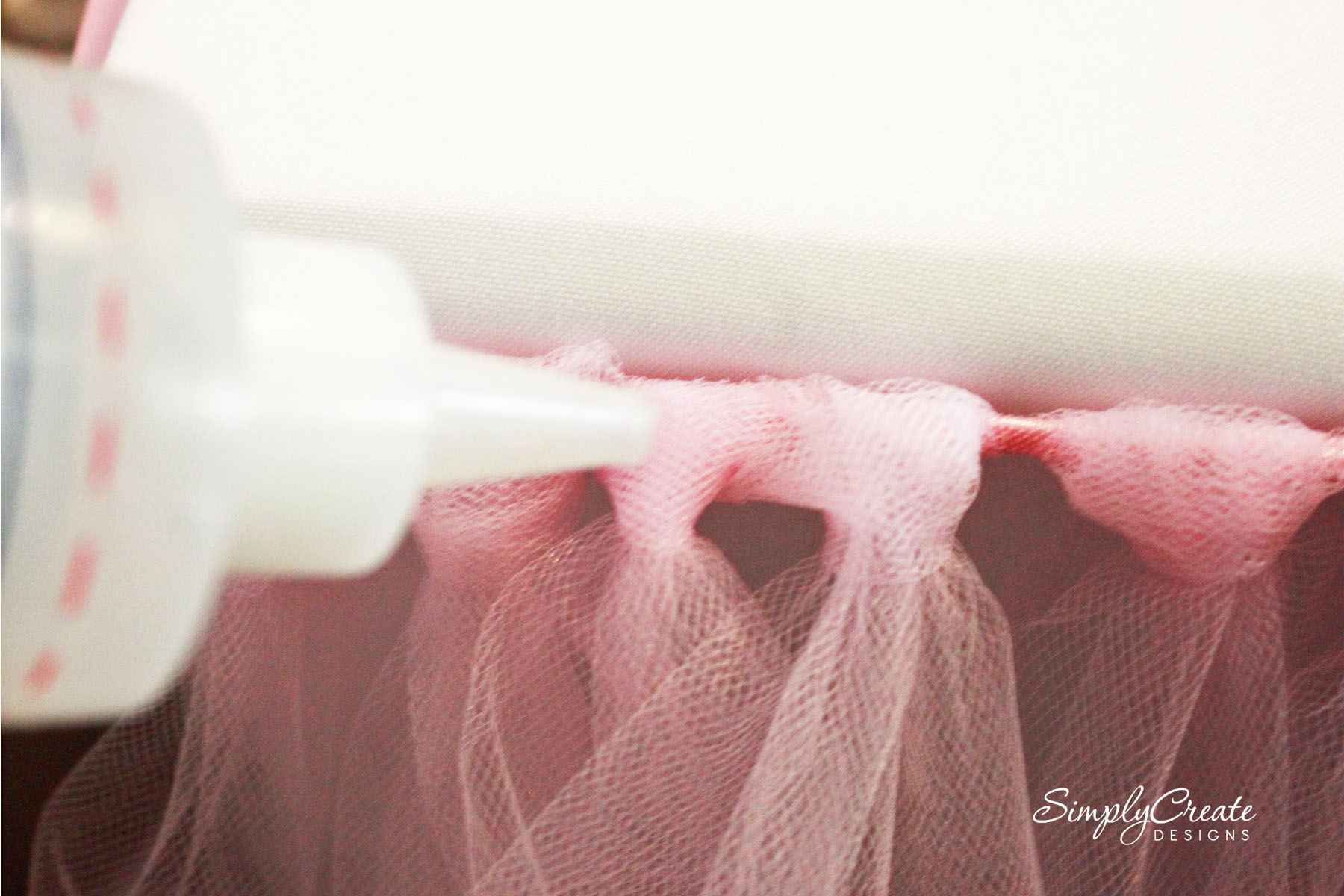 fold over elastic lace ribbon diy