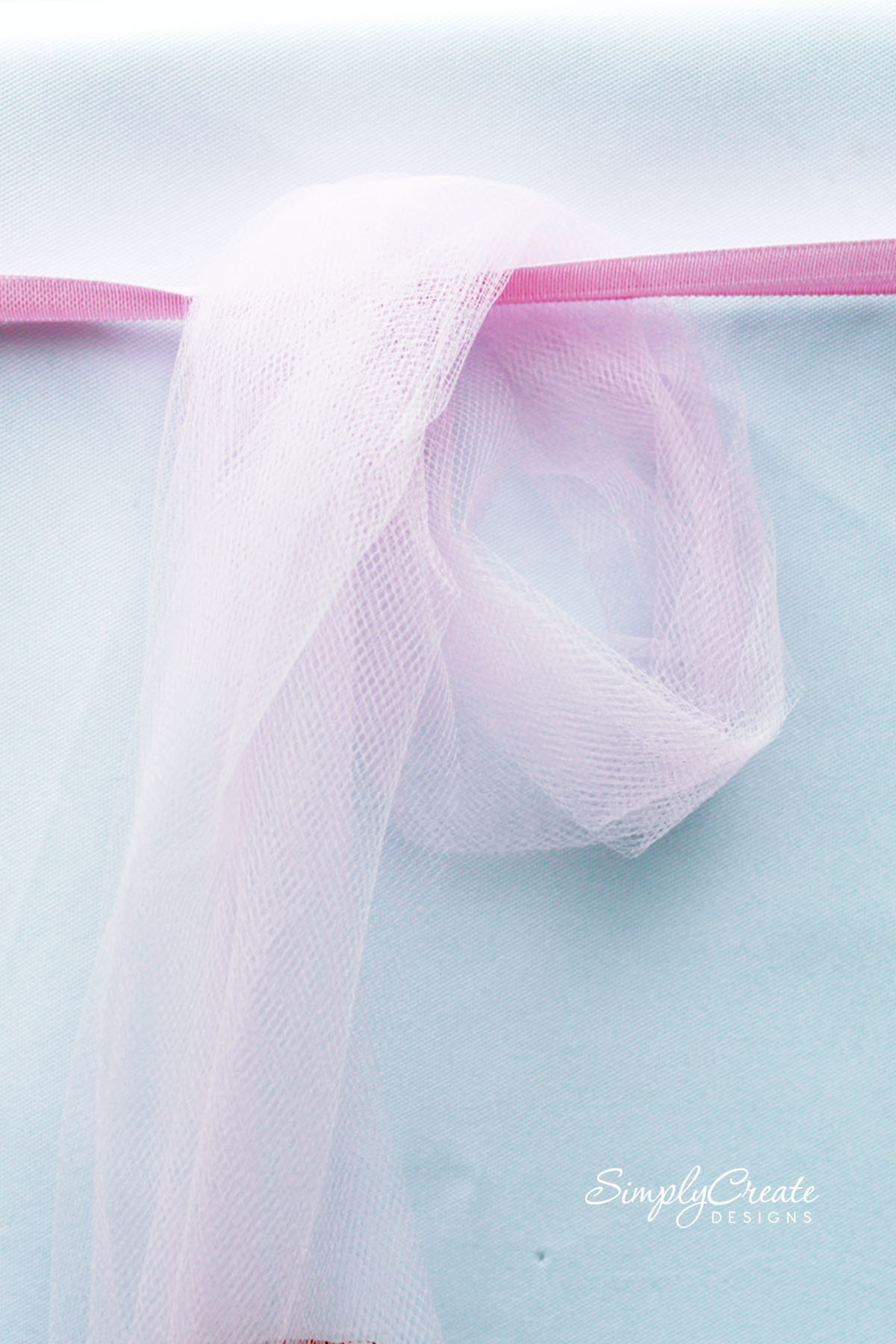 How To Make A Tulle Table Skirt Catch My Party
