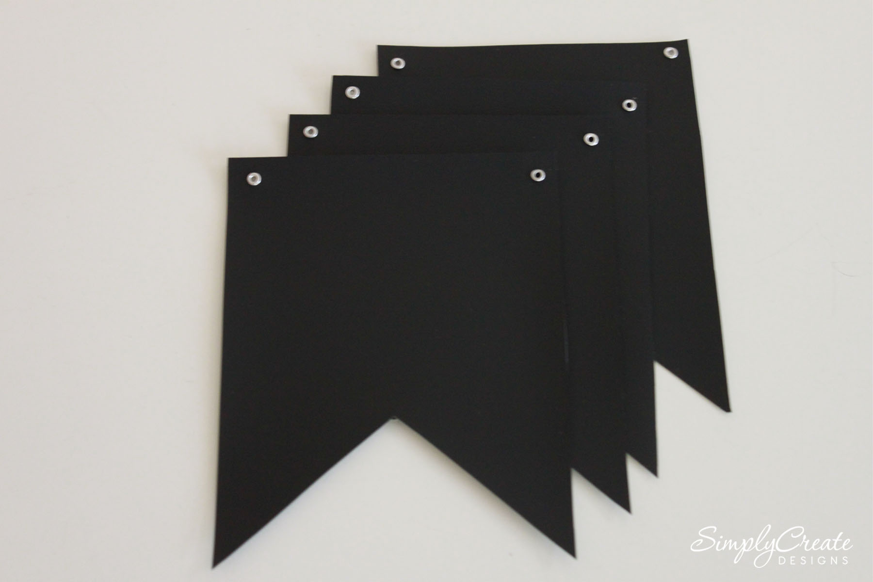 How to Make a DIY Chalkboard Fabric Banner | Catch My Party
