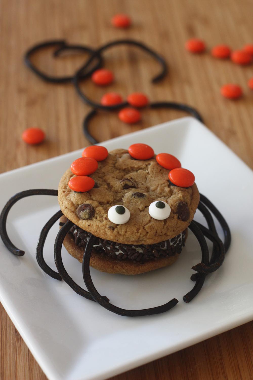 Spider Cookie Sandwiches Spider Cookie Sandwiches new photo