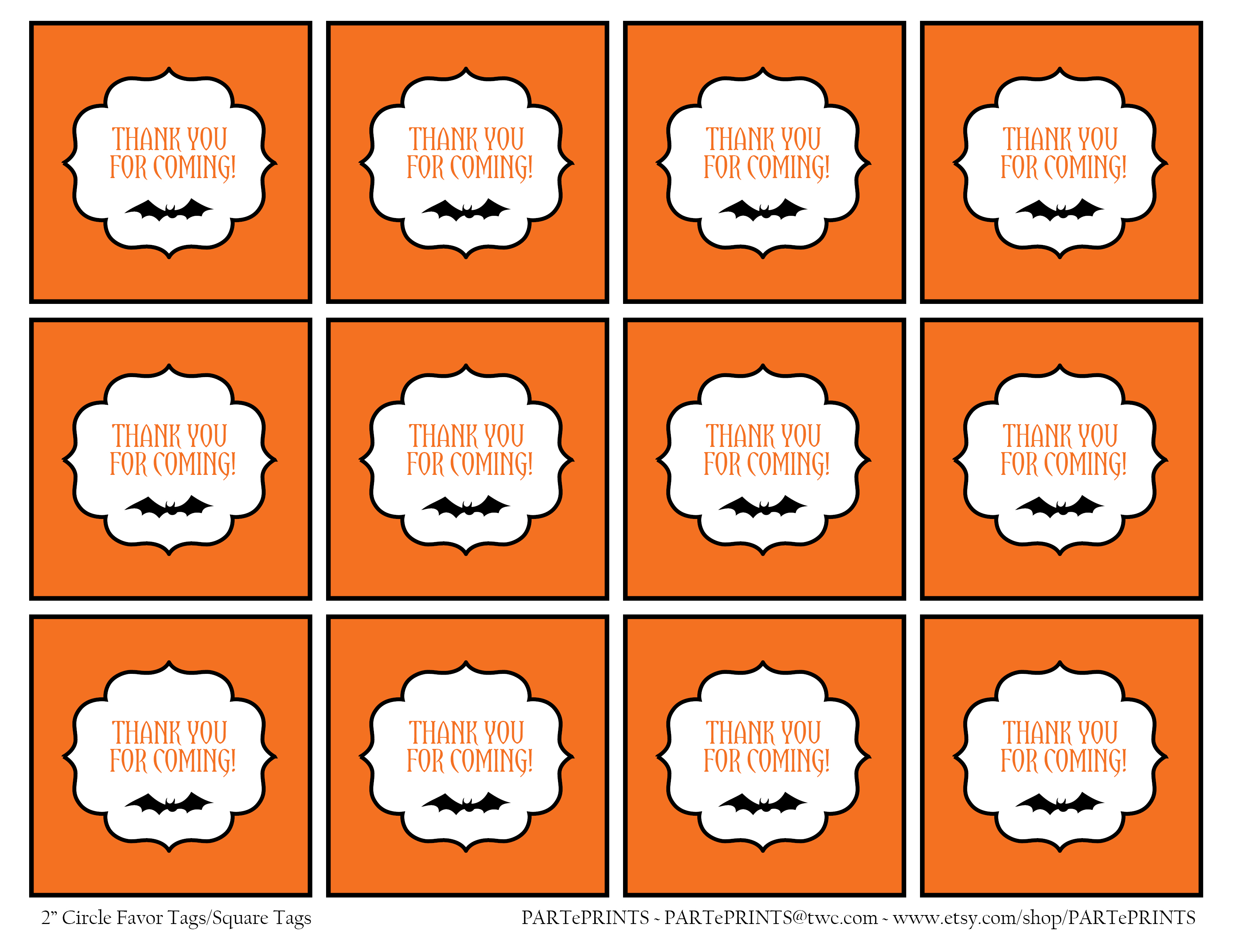 FREE Halloween Printables from PARTePRINTS | Catch My Party