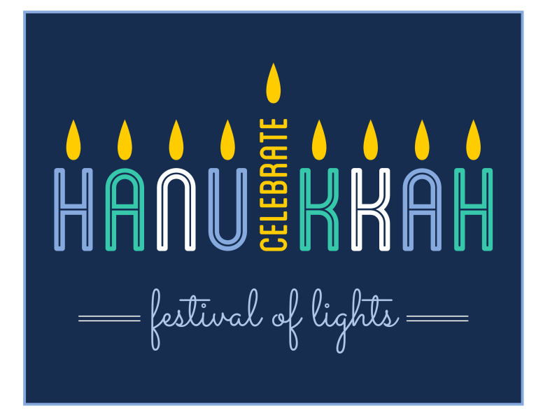 This is a picture of Soft Printable Hanukkah Cards