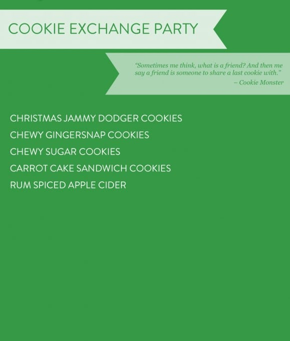Cookie Exchange Party Recipe Ideas