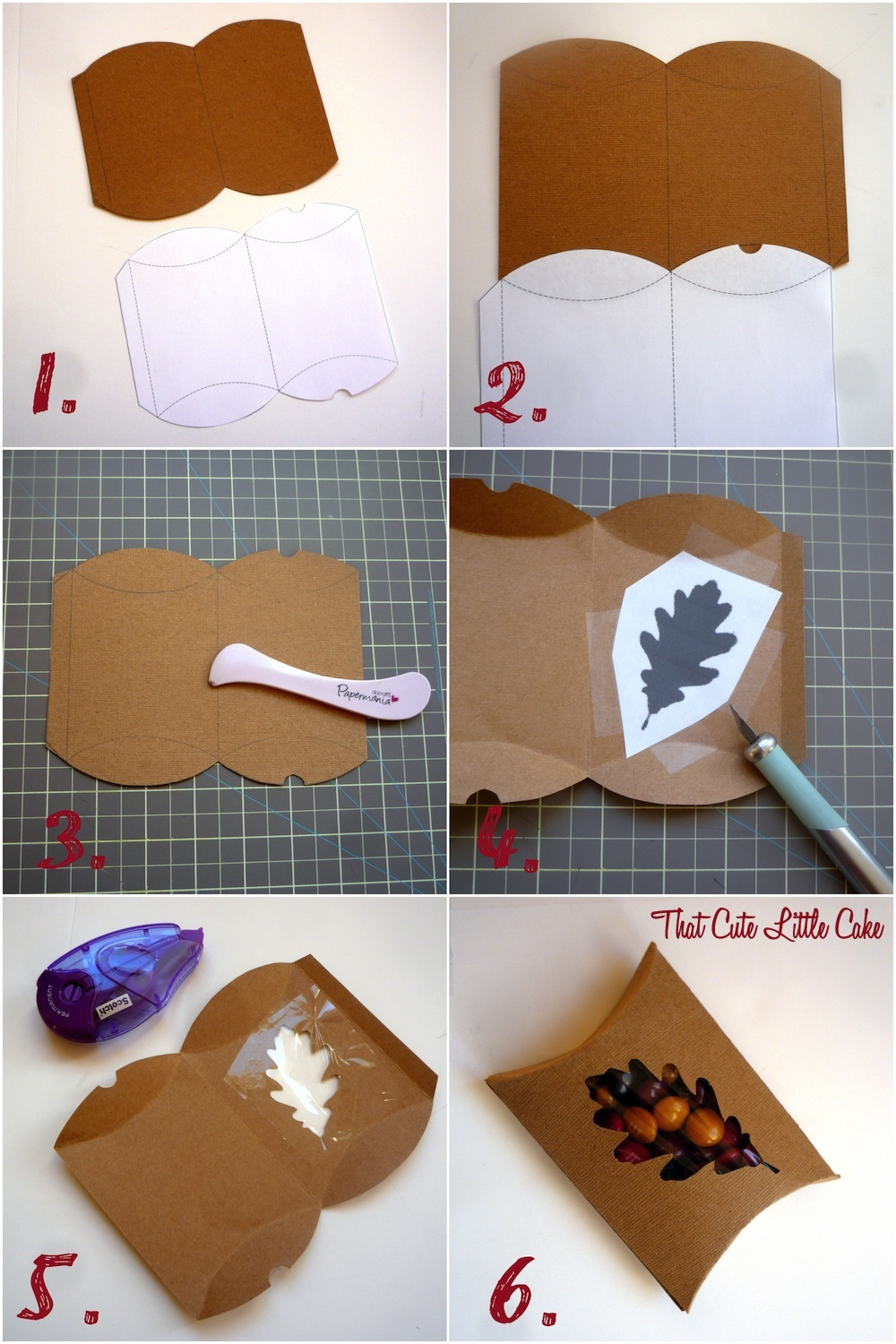 thanksgiving favor box diy catch my party. Black Bedroom Furniture Sets. Home Design Ideas