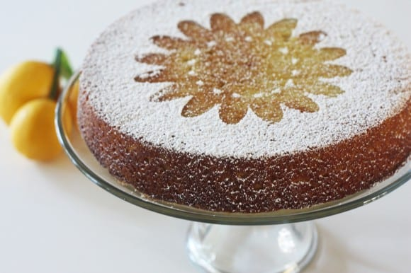 Zesty lemon cake recipe